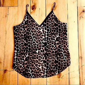 SOLD Leopard Print Camisole by Express